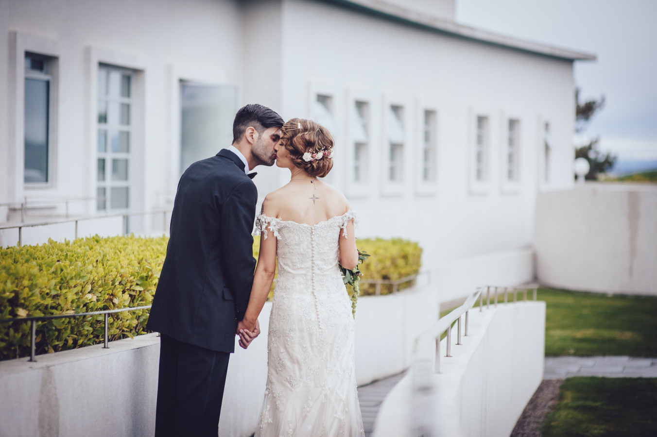 Vintage wedding at the midland hotel, morecambe